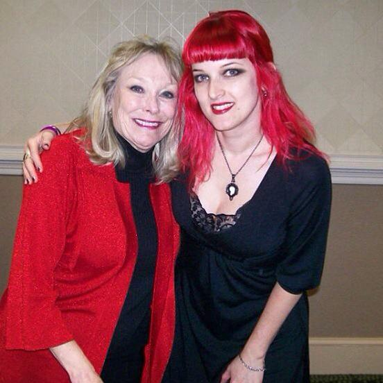 Me with Marilyn Burns