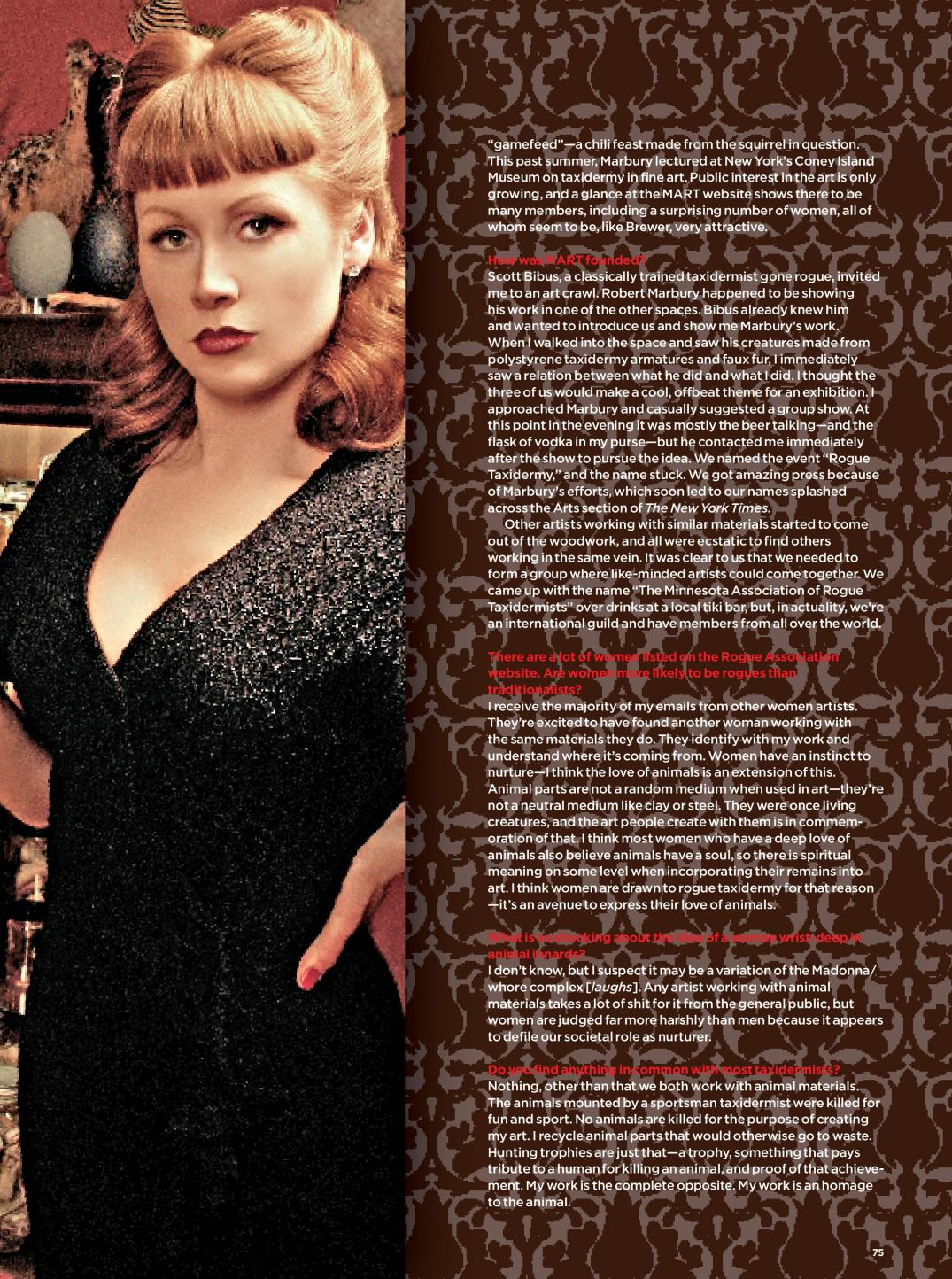 Sarina Brewer page 2