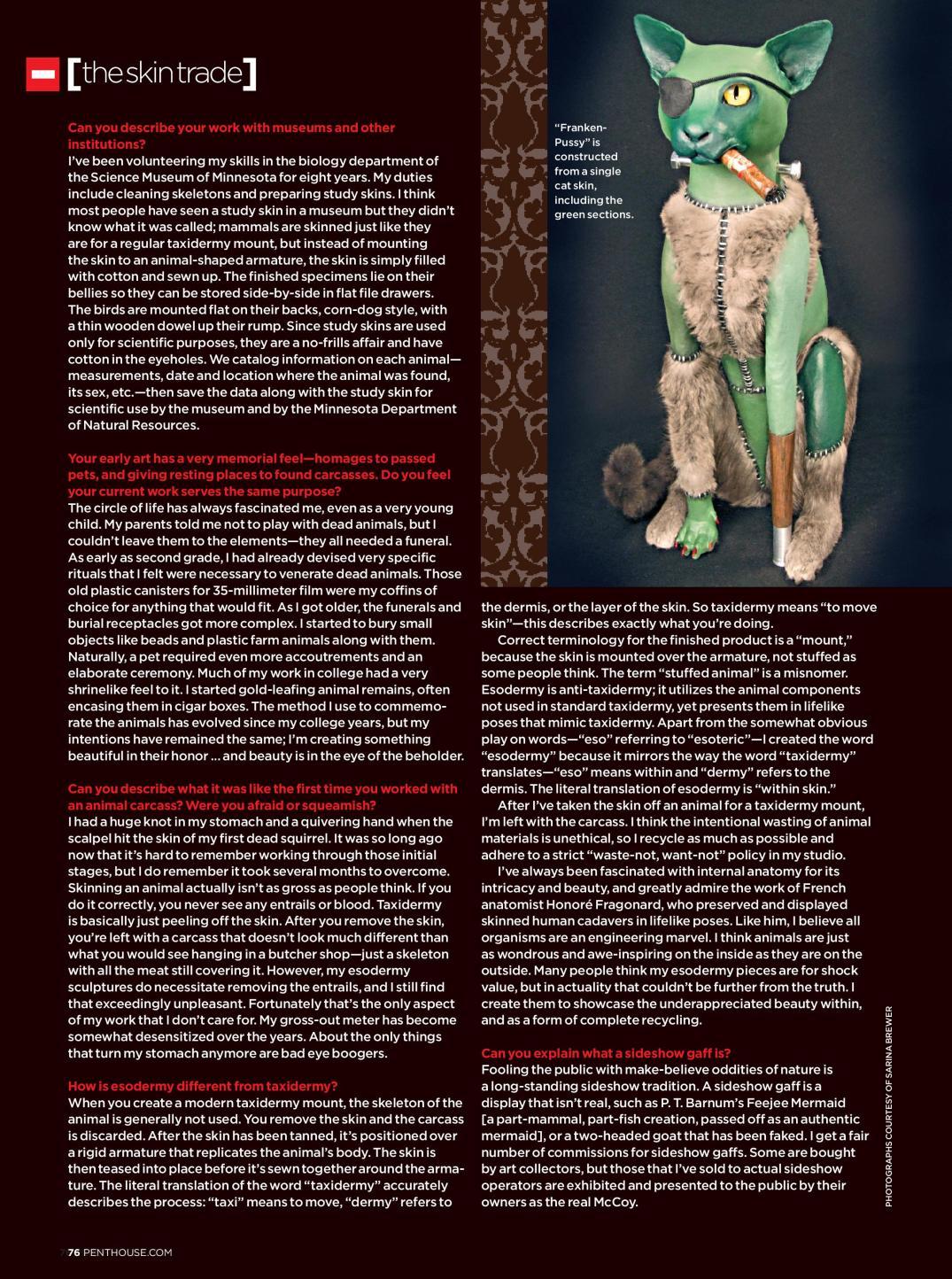 Sarina Brewer page 3